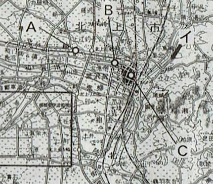 2016センター試験 地理B 問6 図1 拡大