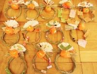 工作:お正月飾り キッズ・アトリエ 西東京市 武蔵野市