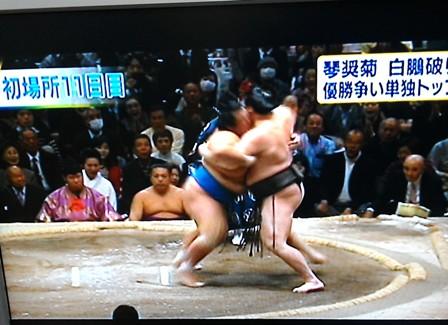 大相撲1月3