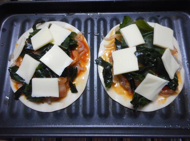 キムチピザ1