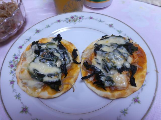 キムチピザ2