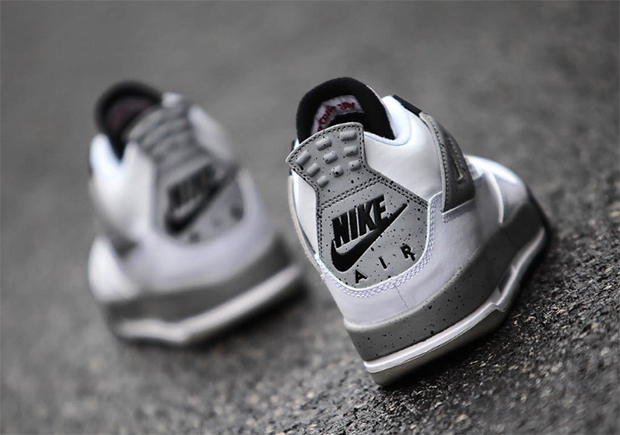 815075c134b Air Jordan 4 Black Cement Kids Jordan 4 Black Cat