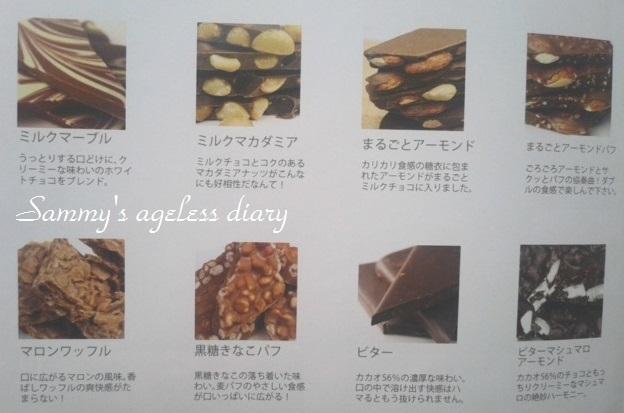 チュベドショコラ割れチョコ 種類1