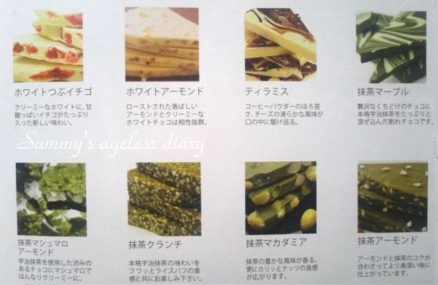 チュベドショコラ割れチョコ 種類2