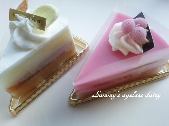 ケーキ石鹸 2個