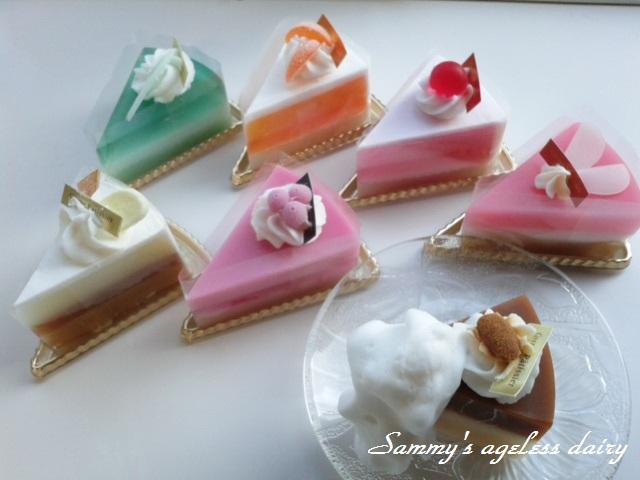 ケーキ石鹸 7個