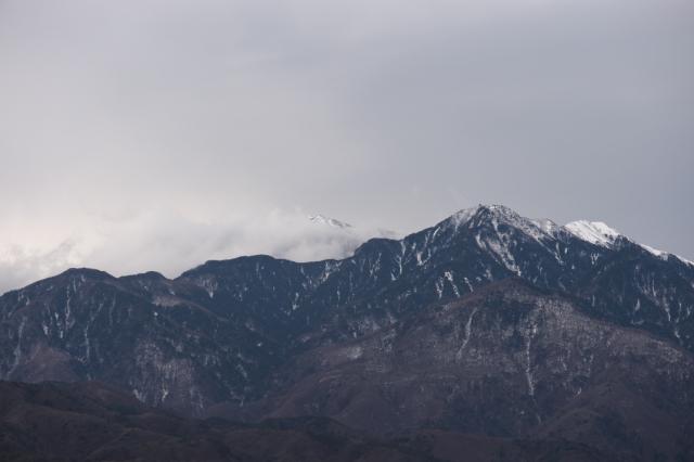 鳳凰三山-地蔵が岳