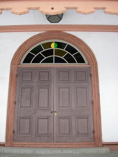 済生館一階部分入り口