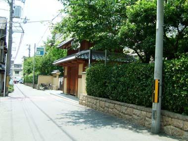 茨木城復元門1(茨木小学校門)