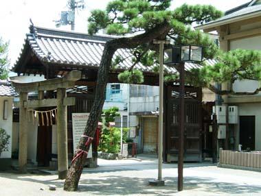 茨木城搦手門5(茨木神社東門)