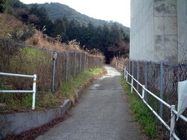 土丸城跡への登山口