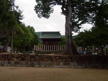 恩智神社旧地