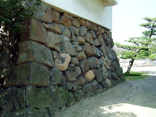 付け櫓石垣