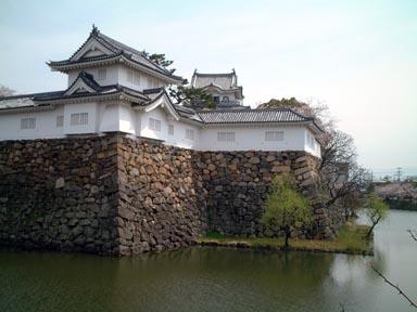 本丸隅櫓と天守閣