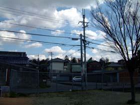岡山御坊跡遠景