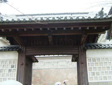 金沢城石川門高麗門