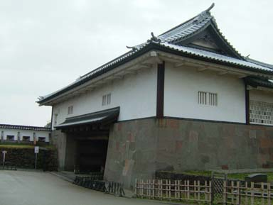 金沢城石川門渡櫓門内側