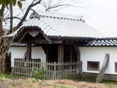 金沢城長塀石落内側
