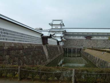 金沢城二の丸橋爪門と橋