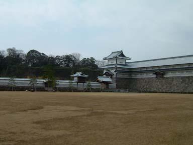 金沢城二の丸橋爪門続櫓