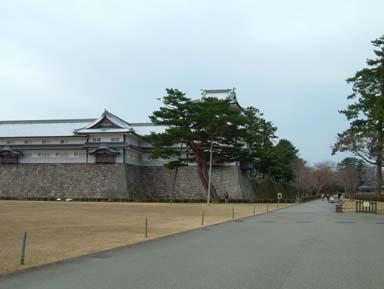 金沢城二の丸菱櫓