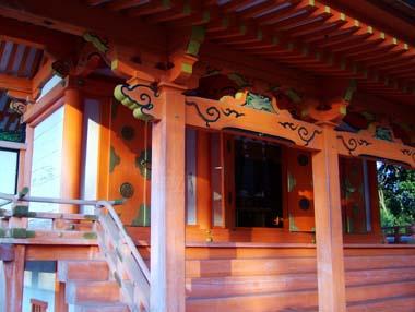 壷井八幡宮社殿