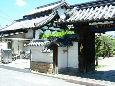 高槻城移築高麗門(本行寺)