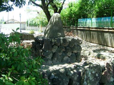 高槻城址石碑