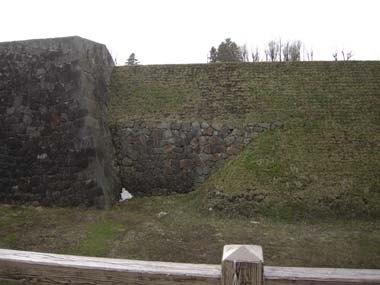 山形城本丸石垣