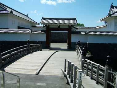 二の丸東大手門木橋
