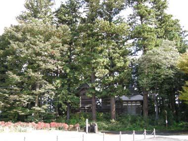 寺津城守護神の日枝神社