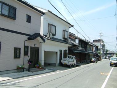 旧城下の町並