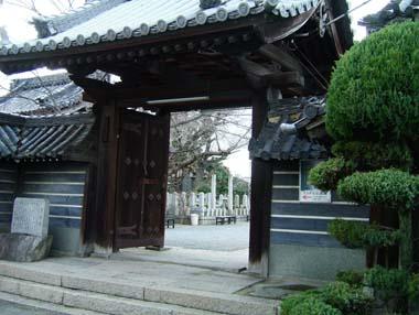 恵光寺山門