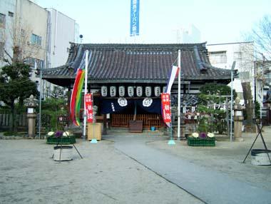 八尾神社拝殿