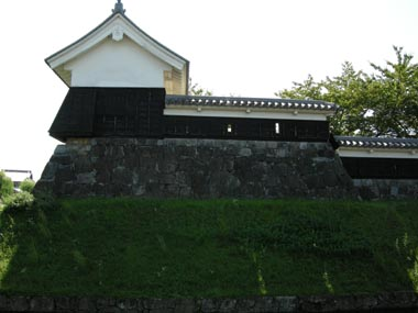 本丸隅櫓北面