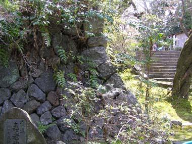 庫裏の石垣