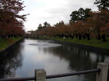 鶴岡城二の丸堀