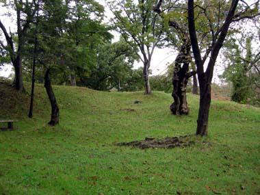鶴岡城本丸御角櫓台跡