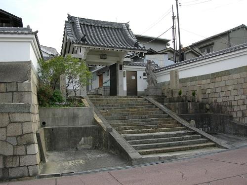 真田丸の東側防壁となった寺の一つ「心眼寺」