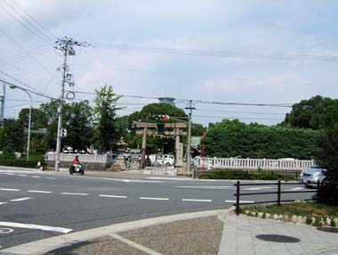 高浜神社境内遠望