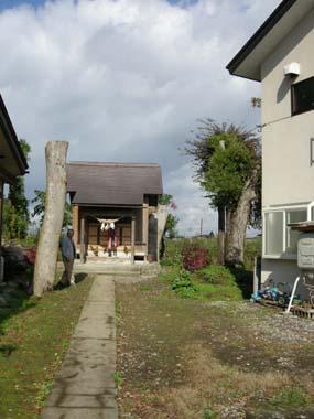 成生城守護神の薬師神社