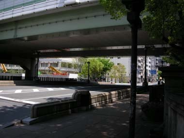 本町橋から奉行所跡