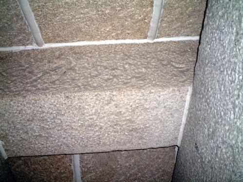 焔硝蔵内部天井石