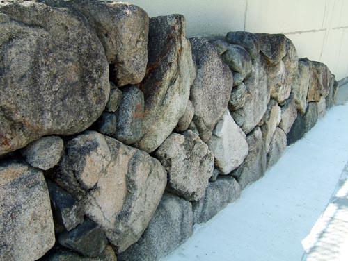 秀吉時代の石垣