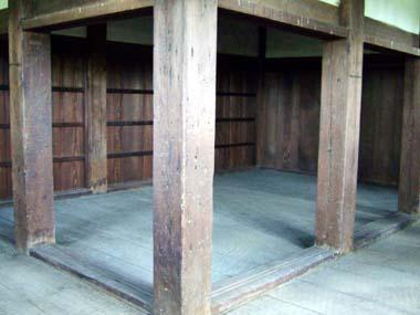 六番櫓内部の部屋(常時非公開)