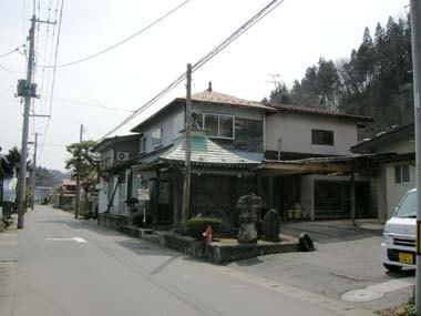 長谷堂城城下道