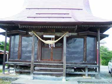 雷神社(郭内)