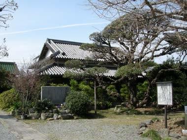 金乗寺庫裏(土屋藩陣屋移築建物)
