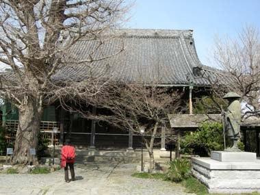 岬町金乗寺本堂