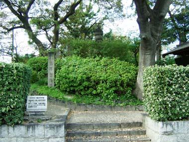 藤原家隆の墓